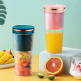 IPRee® 350ml Portable Blender Personal Outdoor Juicer Cup USB Charging Electric Power Mixer for Fruit and Vegetable