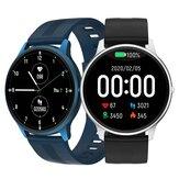 [bluetooth 5.0] Bakeey LW11 1.28 '' Full Touch Corazón Frecuencia de presión arterial Oxígeno Monitor Múltiples diales Reloj personalizado Cara Ultrafino IP68 Impermeable Reloj inteligente