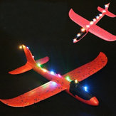 5 UNIDS luz LED Para Epp Lanzamiento de La Mano Throwing Plane Toy DIY Piezas Modificadas de Color Al Azar