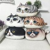Brinquedos truque pelúcia travesseiro encosto de impressão almofada de presente de aniversário 3d criativo pp algodão bonito gato