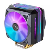 Jonsbo CR1100 CPU Cooler 6 Heat Pipes Colorful Light CPU Cooling Fan ARGB Sync Radiator Cooling With PWM Fans For Intel and AMD