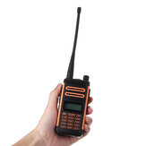 Baofeng X3 Plus 10W Walkie Talkie Rádio Portátil Tri-band UHF / VHF 6600mah