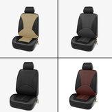 1X Универсальный Авто Чехлы на сиденья Передние сиденья из искусственной кожи PU Чехлы для подушки