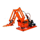 DIY Colorful Mechanical Robot Arm Kit with Infrared Controller Metal Servo for Arduino