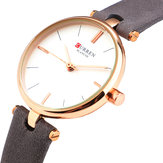 CURREN 9038 Ultra Thin Simple Design Montre Femme
