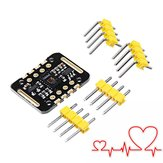 3Pcs MAX30102 Heartbeat Frequency Tester Heart Rate Sensor Module Puls Detection Blood Oxygen Concentration Test Geekcreit for Arduino - products that work with official Arduino boards