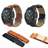 22mm Double Head Leather Strap Watch Band for Huawei Watch GT