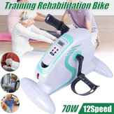 Old People Rehabilitation Indoor Bike Bicycle Trainer Arm Leg Pedal Exerciser Workout Fitness