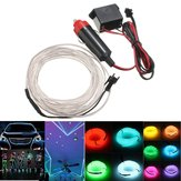 300cm EL Neon Light Light Light Cable Cord Провод 12V инвертор