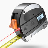 DANIU 30M Laser Rangefinder Anti-fall Steel Tape High Precision Infrared Digital Laser Distance Meter Meas