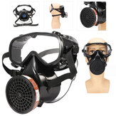Facepiece Respirator Full Face Masker Gas Chemical Dust Breath Protective Filter