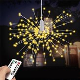 Batterie Powered 100 LED 8 Modi IP65 13 Schlüssel Remote DIY Feuerwerk Fairy String Weihnachten Licht