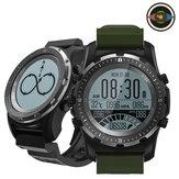 Bakeey S966 GPS Coração Monitor de Taxa Bússola Temperatura Modos Multi-esportivos Relógio Exterior Relógio Inteligente