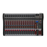 16 Channel Professional DJ Studio Live Studio Audio Mixer Sound Console