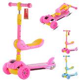 3 في 1 طوي ركلة أطفال سكوتر طفل 3 عجلة بنين بنات قدم سكوتر التوازن الدراجة