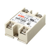 3Pcs 25A SSR-25DD Solid State Relais Module DC 3-32V Naar DC 5-200V
