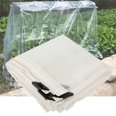Garden Patio Clear Plant Canopy Sunshade Rain Cover Waterproof Windproof