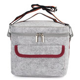 Insulated Thermal Cooler Lunch Schowek Torba Tote Shoulder Pasek Carry Picnic