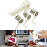 Mutfak Hız Rende Dilimleme Döner El Peynir Paslanmaz Çelik Jiletler El Kampçılık Piknik Parçalar