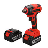388VF 520N.M High Torque Brushless Impact Wrench Cordless Rechargable Electric Socket Wrench Also Adapted To Makita Battery