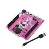 RGBDuino UNO V1.2 Płytka rozwojowa Jenny ATmega328P Chip CH340C VS UNO R3 Aktualizacja dla Raspberry Pi 4 Raspberry Pi 3B Geekcreit dla Arduino - produkty współpracujące z oficjalnymi płytkami Arduino