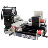 12V DC 2A 24W Multi-purpose Mini Wood Lathe Metal Rotating Lathe Machine