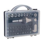 41 in 1 Multi-purpose Screwdriver T Style Handle Ratchet Telescopic Home DIY Repair Tools Kit