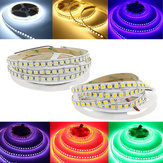 5M 5050 SMD 120LED / M Non-impermeabile RGB Bianco puro Caldo Bianco LED Flessibile Strip Light DC12V