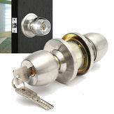 Os botões de porta redondos de aço inoxidável seguram a entrada interior do fechamento da passagem da entrada com chave