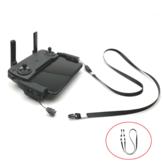 CQT Trasmettitore remoto Controller Fibbia Fibbia Cordino Collo Imbragatura per cinturino per DJI Mavic Mini