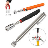Mini Portable Magnetic Retractable Pickup Telescopic Powerful Iron Bar Magnetic Suction Rod with LED Light