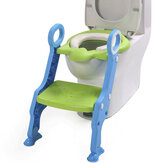 Kids Baby Toilet Seat Step Ladder Toddler Potty Training Trainer Non-Slip Safety