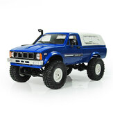 WPL C24 1/16 Kit 4WD 2.4G Camion militare Crawler Off Road RC Car 2CH Toy