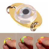 ZANLURE Button Battery Fishing Lamp Fishing Lure Light Underwater Eye Shape Night Lights