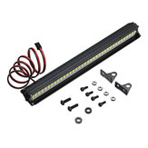 36LED Super Bright LED Light Bar Roof Lamp Set para 1/10 TRX4 SCX10 90046 Crawler Rc Car