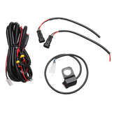 10A Relsy Switch Fog Light / Spot Wiring Loom Harness Kit  For Motorcycle Car