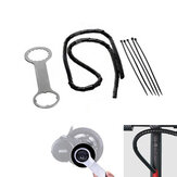 BAFANG Wrench 1m Line Organizer Spiral Wrap Protector 5 Pcs Bandage Electric Bike Accessories