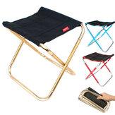 Tabouret de pique-nique portable en aluminium de grande taille IPRee® Chaise pliante extérieure Siège de camping Chaise de plage de voyage de pêche