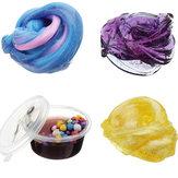 60ML Многоцветный смешанный хлопок Пластилин слизистая грязь DIY Подарочная игрушка Усилитель напряжения