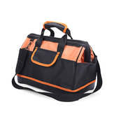 18inch Oxford Hardware Technician Tool Bag Molded Base Backpack Pouch Organizer