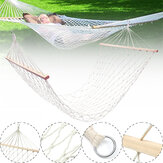 Cotton Rope Hammocks Macrame Swing Bed Hammock Chairs Camping Travel Garden Max Load 120kg