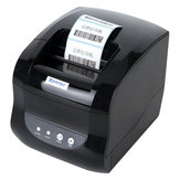 Xprinter XP-365B Thermische bonprinter Bill POS Printer Barcodes QR-codes Printer USB-poort voor supermarkten Winkels Restaurants voor XP Windows 7 8 10