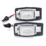 LED luzes da lâmpada da chapa de matrícula para miata mx-5 mpv nb protege ford escape