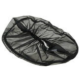 Air Filter Cleaner Rain Sock Cover For Harley Touring Softail Dyna Black