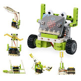 ElecFreaks Microbit Children Programming Electronic Building Blocks 6 in 1 Kit RC ذكي Robot