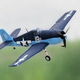 Dynam F6F Hellcat V2 1270mm Wingspan EPO Warbird RC Airplane PNP With Flaps & Upgraded Power System