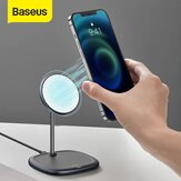 Baseus 15W Magnetic Wireless Charger Fast Wireless Charging Pad Magnetic Phone Stand Holder Only For iPhone 12 / for iPhone 12 Mini / for iPhone 12 Pro / for iPhone 12 Pro Max