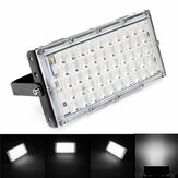50W Black Shell LED Flood Light Waterdicht Wit Licht Landscape Garden Lamp voor Outdoor AC185-265V