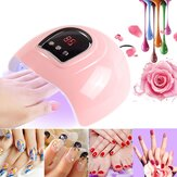54W UV Nail Lamp 18 UV LED Lights Gel Nail Polish Dryer Curing Manicure