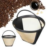 Roestvrijstalen koffietrechterfilter Herbruikbare theezeefjes Draadgaasmand